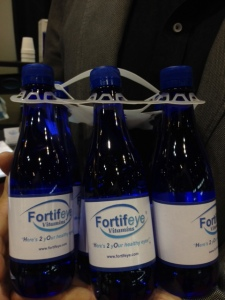Fortifeye water is a high ph mineral water coming from Orange Springs Florida, uv, microfiltered and ozonated in a Bispheol free bottle.